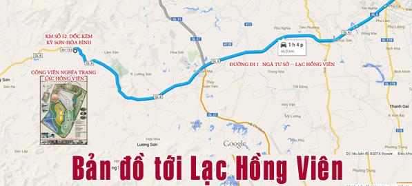 link bản đồ đến dự án
